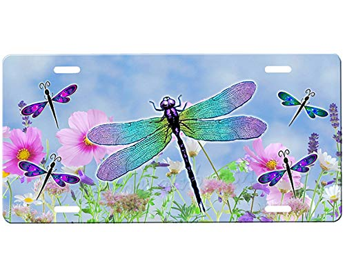 Dragonflies License Plate