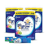Go & Grow by Similac Milk-Based Toddler Drink, Bundle Pack, 3-36oz cans + Two Free Samples