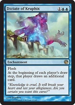 Magic: the Gathering - Dictate of Kruphix - Journey into Nyx