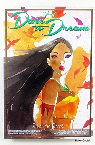 Disney Dare to Dream Pocahontas Beauty Book (Elf Cosmetics Jasmine)
