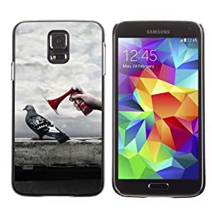 Designer Depo Hard Protection Case for Samsung Galaxy S5 / Pigeon