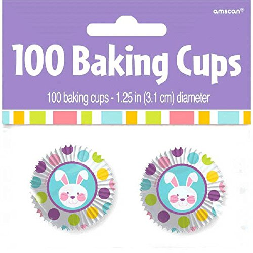 Amscan Egg-stra Special Easter Party Mini Cupcake Baking Cup