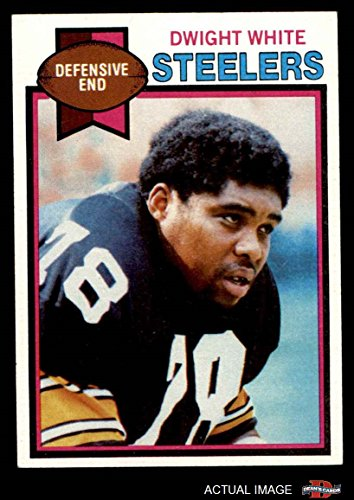 1979 Topps # 145 Dwight White Pittsburgh Steelers (Football Card) Dean's Cards 6 - EX/MT Steelers -