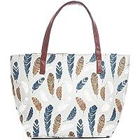 Women's Large Travel Totes Bag Shoulder Lightweight Shoulder Beach Satchels Purse Top-handle Shopping Handbag