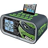 Teenage Mutant Ninja Turtles Dual Alarm Clock Speaker System (TM-H22)