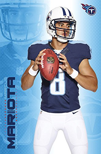 "Trends International RP14238 Wall Poster Tennessee Titans Marcus Mariota, 22"" X 34"", Wall Poster"