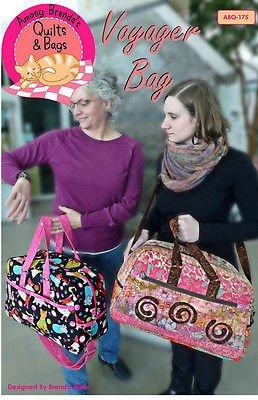 Voyager Duffel Bag Pattern (Brenda Zip Bag)