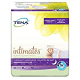 Tena Incontinence Underwear For Women, For Overnight, Xlarge, 12 Count (Pack of 4)