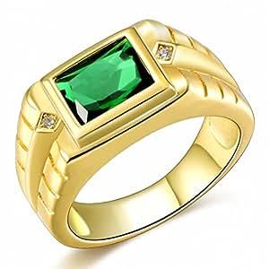 Amazon.com: songdetao anillos de moda para hombres lindo ...
