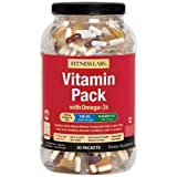 Fitness Labs Vitamin Pack with Omega-3s (90 Packets)