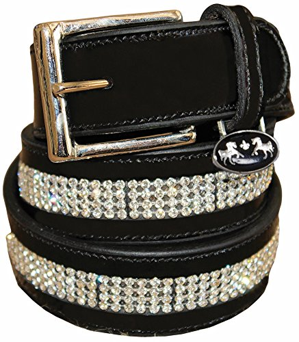 Couture Bling - Equine Couture Bling Leather Belt - Regular Leather