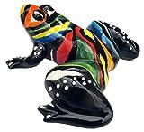 Mr. Rainbow Frog - Ceramic Frog Hand Painted In Spain