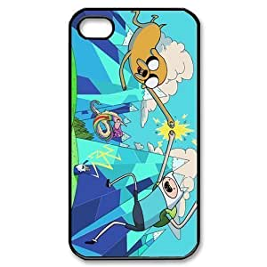 Custom Your Own Personalised Adventure Time Iphone 4/4S Best Durable Hard Cover Case