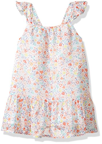 Crazy 8 Baby Toddler Girls' WVN Ditsy Print Flutter Sleeve Dress, Multi, 6-12 Months -
