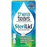 TheraTears Sterilid Eyelid Cleanser, Lid Scrub for Eyes and Eyelashes, 1.62 Fl oz Foam Pump, 48 mL
