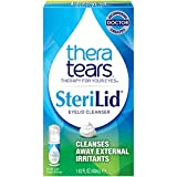 TheraTears Sterilid Eyelid Cleanser Foam, Lid Scrub for Eyes and Eyelashes, 1.62 fl oz (48 mL)