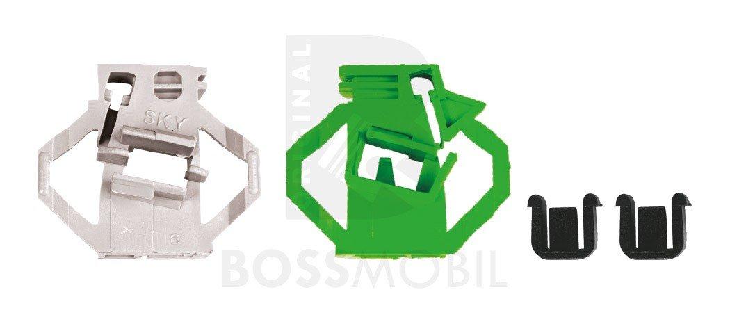 kit de reparaci/ón de elevalunas el/éctricos Delantero izquierdo Bossmobil IBIZA 2+3 II+III 6K1