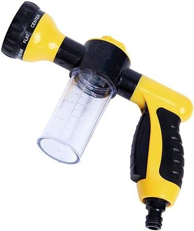 Pistola para Manguera de riego para el jardín Espuma Pistola de agua de riego de alta