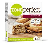 ZonePerfect Nutrition Bars, Cinnamon Roll, 1.76 oz, 30 Count by Zone Perfect