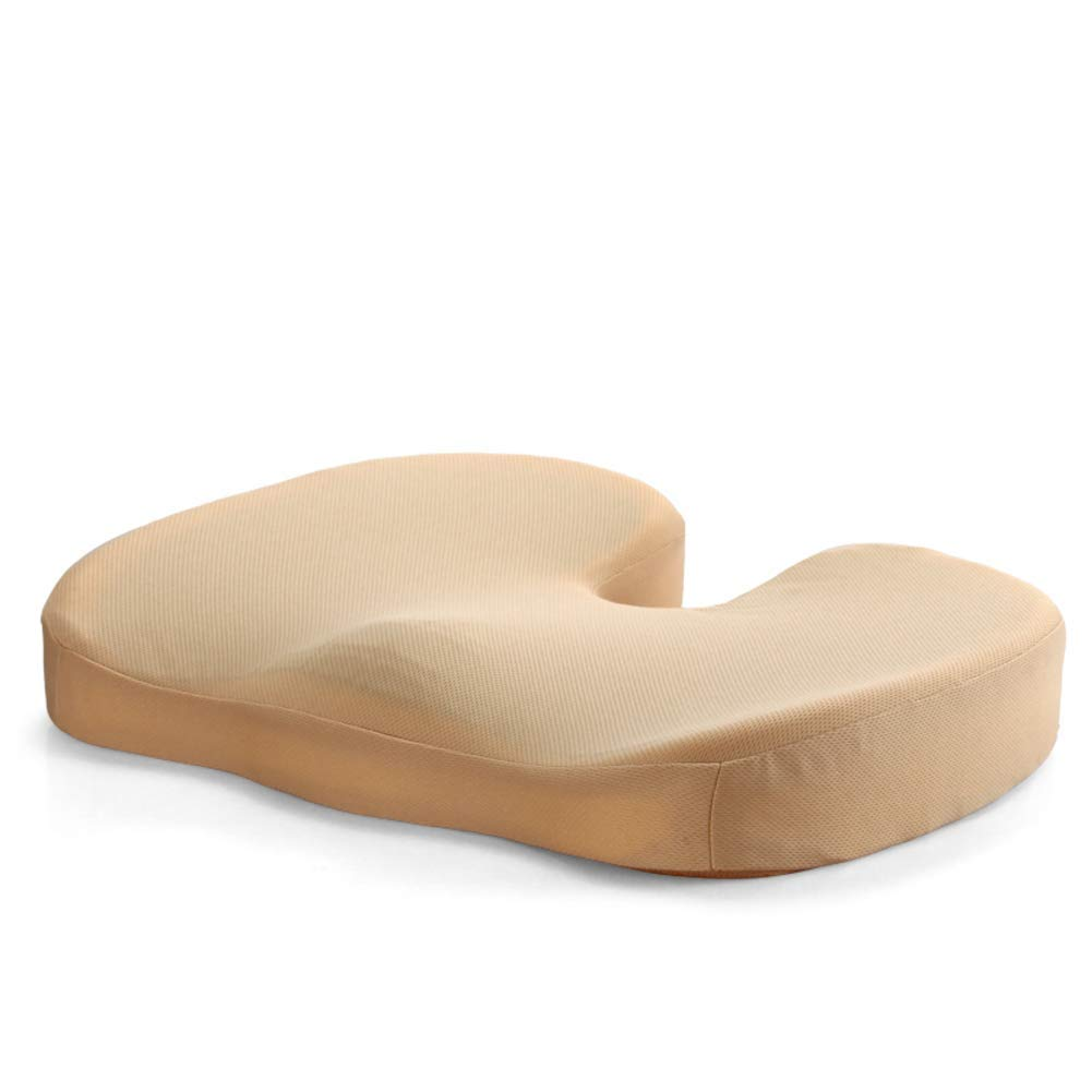 Der Gel Memory Cotton Cushion Nonlip Thicken Seat Suitable for Office Outdoor Garden Dormitory (Color : B, Size : 45x35x7cm(18x14x3inch))