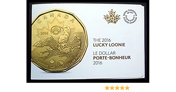 2016 Canada $1 Lucky Loonie 5-pack Olympic Dollar Circulation original Mint pack