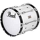 Pearl CMB1614N/C Marching Bass Drums Pure White