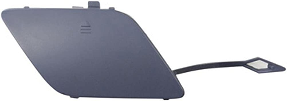 CPP Direct Fit Primed Front Passenger Side Tow Eye Cover for Mercedes-Benz C-Class