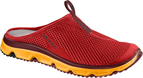 Salomon Men's Rx Slide 3.0 Clogs Red (Fiery Red/Bright Marigold/Syrah) 28s9bzsLsx