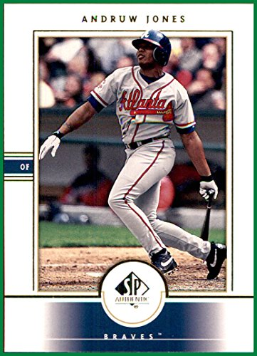 2000 SP Authentic #47 Andruw Jones ATLANTA BRAVES