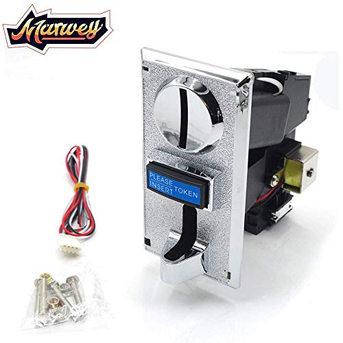 - Marwey 6 Kinds Different Multi Coin Selector Acceptor Token for Arcade Video Games Vending Machine Parts Support Signal Output Coin-Operated New