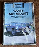 Sprite--MG Midget Service--Repair Handbook, Alan Ahlstrand, 0892871644