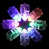 Neo LOONS 100pcs/lot 100 X Multi-Colored Led Flash Ball Lamp Balloon Light Long Standby Time for Paper Lantern Balloon Light Party Wedding Decoration, Slow Flash