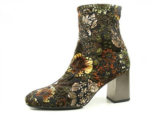 para de mujer Boots Schwarz cuero Hispanitas Ankle Botines Penelop HI75708 aZ6WUH7