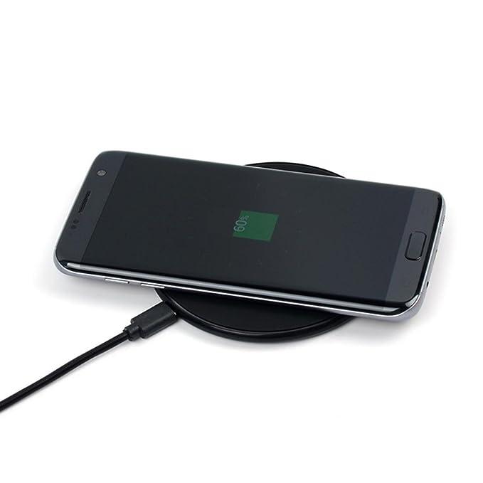 Qi cargador inalámbrico para Samsung Galaxy S8/S8 Plus ...