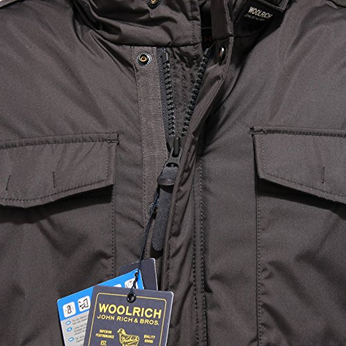 0419v Grigio Uomo Giubbotto Field Woolrich Jacket Giacca Turer Men Scuro SnBxw7vF