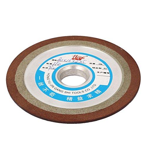 uxcell 80mm x 16mm x 8mm x 5mm 150 Grit Diamond Cutter Grinder Grinding Wheel Cup Disc