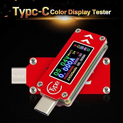 - Voltage Meters - Voltage Ammeter Type C Tester Fast Charge Usb Pd Current Meter Temperature Measurement Precision - Voltage Meters Test Voltage Meters Capacitor Meter Digital Tester Fuse Test