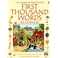 First Thousand Words: With Internet-Linked Pronunciation Guide (Usborne Inter...
