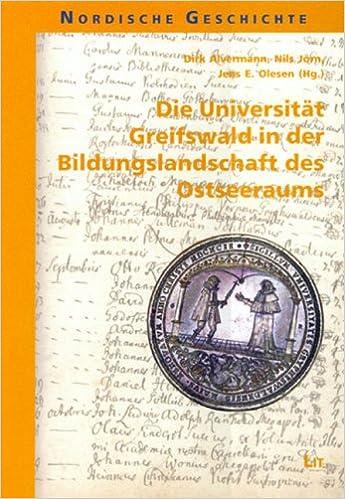 die universitt greifswald in der bildungslandschaft des ostseeraums amazonde dirk alvermann nils jrn jens e olesen stephanie irrgang bcher - Uni Greifswald Bewerbung