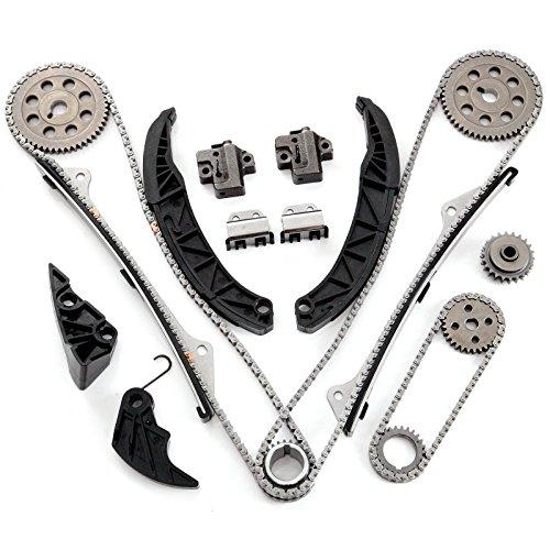SCITOO Timing Chain Kit fits for 06-11 Hyundai Azera Kia Sorento Sedona 3.3L 3.8L DOHC 24v