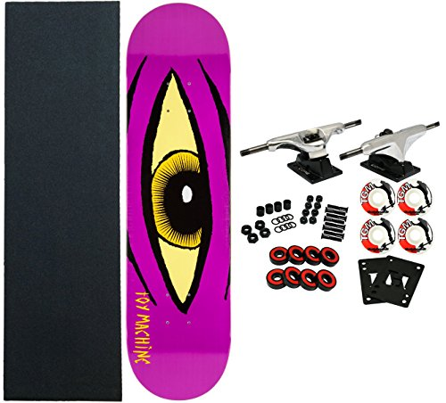 Toy Machine Sect Eye (TOY MACHINE Complete Pro Skateboard SECT EYE PURPLE 8.12)