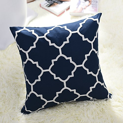Outdoor Sofa Throw Pillow Cover - PONY DANCE Square Canvas G