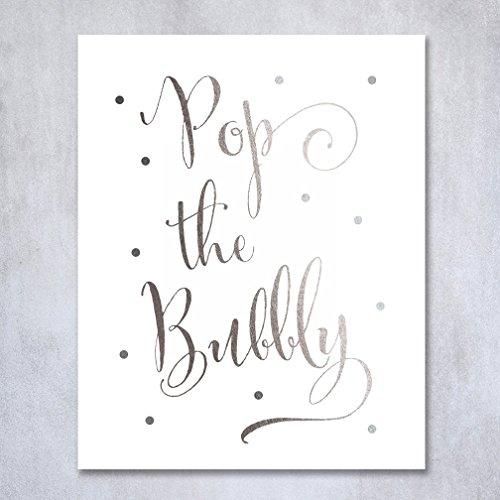 pop-the-bubbly-silver-foil-print-bar-cart-sign-wedding-signage-champagne-reception-decor-art-metalli