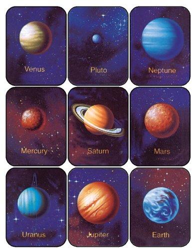 Paper Magic 656410 Eureka Planets Stickers Inc. Paper Magic Group