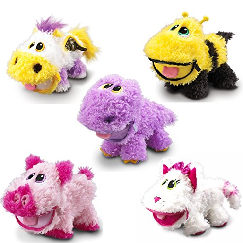 Stuffies Stuffed Animals 11 Soft Plush Toys Endless Fun With Magnets Secret pockets and Friendship Bracelets - Set Of 5