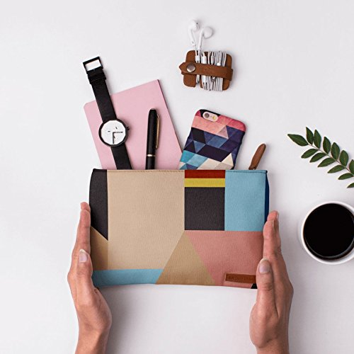 Abstract Shapes Carry Pouch