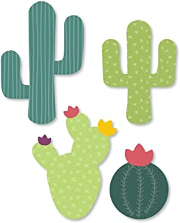 product image for Big Dot of Happiness Prickly Cactus Party - DIY Shaped Fiesta Party Cut-Outs - 24 Count