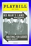 Waiting for Godot, Broadway playbill + Ian McKellen, Patrick Stewart, Billy Crudup, Shuler Hensley