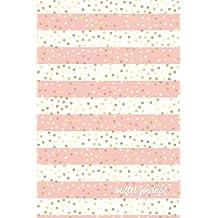 Bullet Journal: Pink + Gold Dot Grid Journal   Gold Bullet Journal