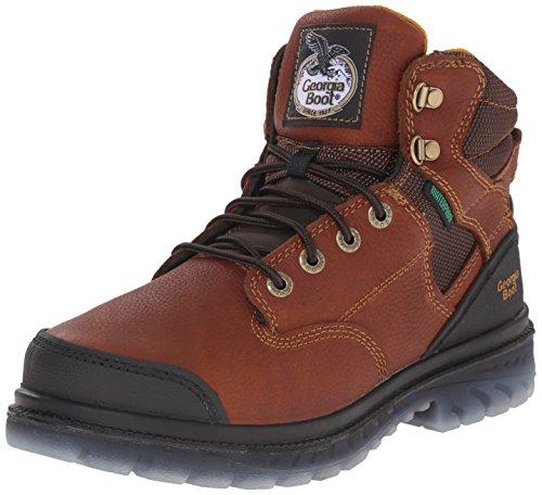 UPC 883802491340, Georgia Men's Zero Drag-M Steel Toe Work Boot, Brown, 9.5 M US